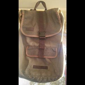Timbuk2 grey laptop backpack
